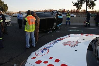 Mini Cooper Accident | N3 South Africa | Matrix