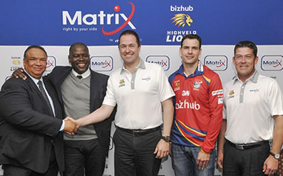 MiX Telematics announces sponsorship of the bizhub Highveld Lions