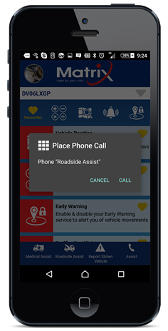 One-touch access provides roadside and medical response, including ground response teams who will be dispatched to your exact location.