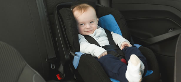 Forward-facing child seat