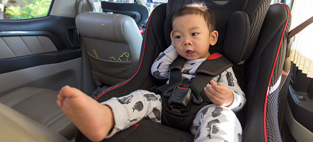 Rear-facing child seat