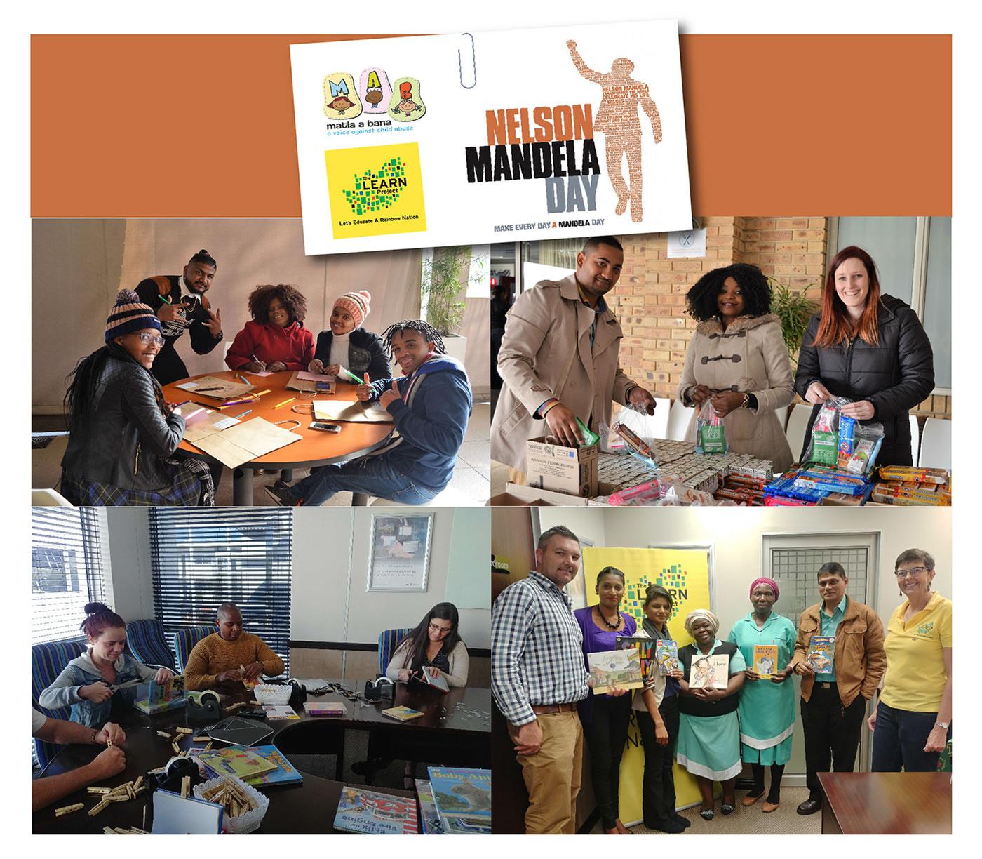 MiX Telematics Celebrates Mandela Day